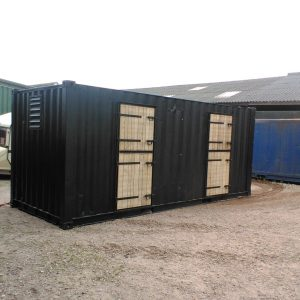 paardenstal container