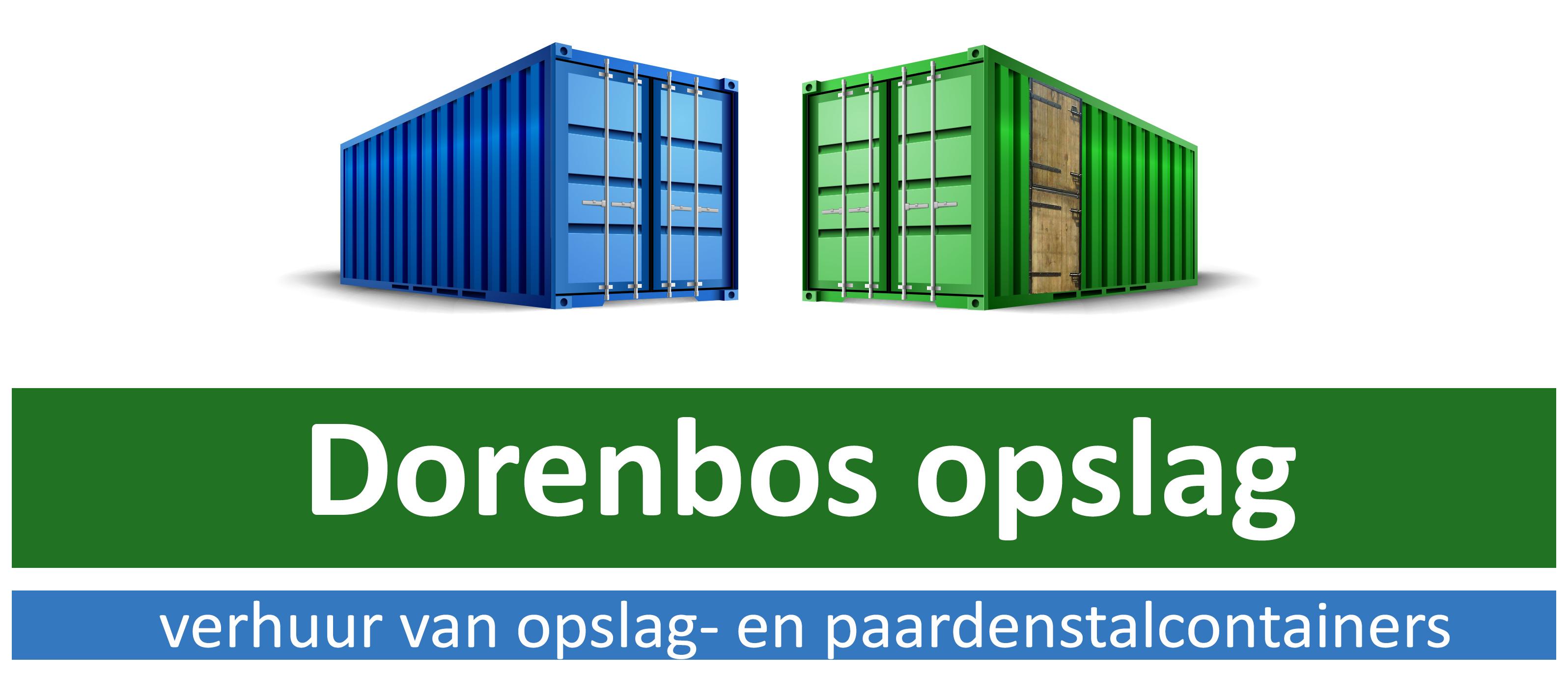 Dorenbos Opslag | Opslagcontainers | Paardenstalcontainers | Verhuur